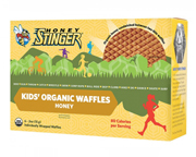 HONEY STINGER KIDS ORGANIC ENERGY WAFFLE  PARA NIÑOS 6 U HONEY